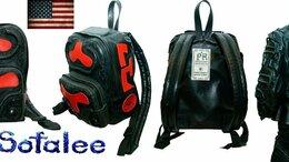 Рюкзаки - Рюкзак черный кожаный ручной работы. Новый., 0