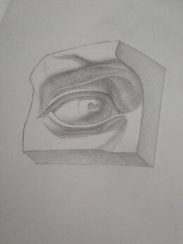 """Картины, постеры, гобелены, панно - Рисунок """"Глаз Давида"""", 0"""
