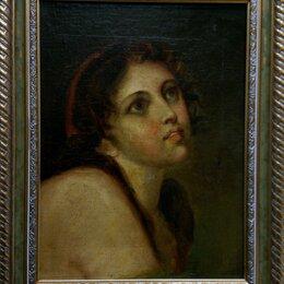 Картины, постеры, гобелены, панно - Старинная картина масло холст, 0