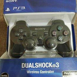 Аксессуары - Качественный Джойстик Sony Dualshock 3 в коробке, 0