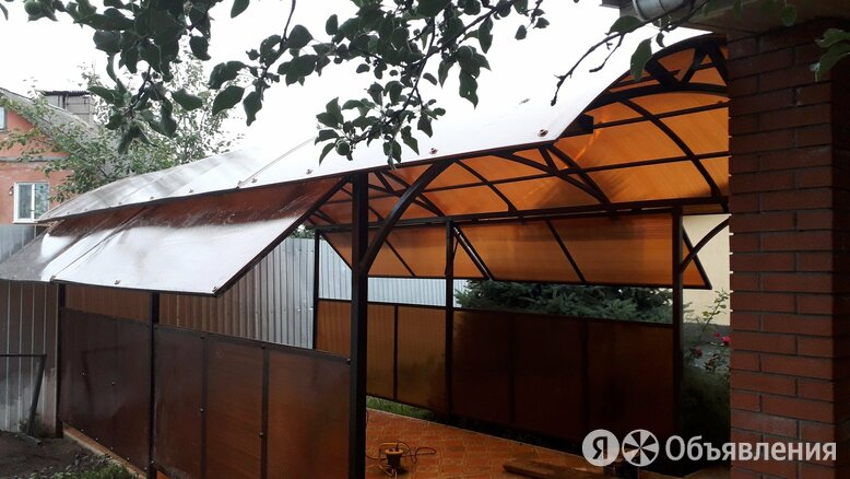 Навесы, лестницы, ворота, заборы. Саратов и обл. по цене 3100₽ - Дизайн, изготовление и реставрация товаров, фото 0