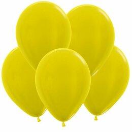 Новогодний декор и аксессуары - Шар Жёлтый, кристалл, 0