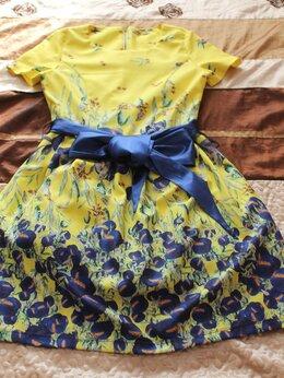 Платья - красивое платье,XS/S с ирисами в стиле Ван Гога, 0