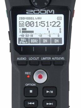 Микрофоны - Портативный рекордер Zoom H1n, 0