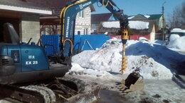 Спецтехника и навесное оборудование - Ямобур на базе мини экскаватора Хитачи, 0