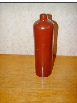 Бутылки - Керамика, бутылка, вазон, 0