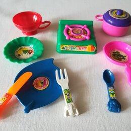 Игрушечная еда и посуда - Игрушечный набор для кухни нулевые годы, 0