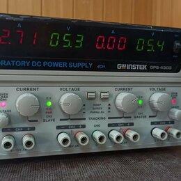 Источники бесперебойного питания, сетевые фильтры - 4-канальный DC источник питания GW INSTEK 4303, 0