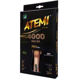 Ракетки - Ракетка ATEMI 4000 Balsa, 0