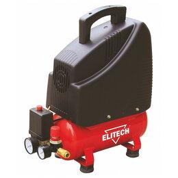 Воздушные компрессоры - Компрессор безмасляный Elitech КПБ 190/6, 0