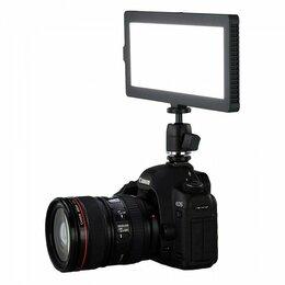 Фотовспышки - Видео свет Lishuai Flapjack C-218A (с батареей и ), 0