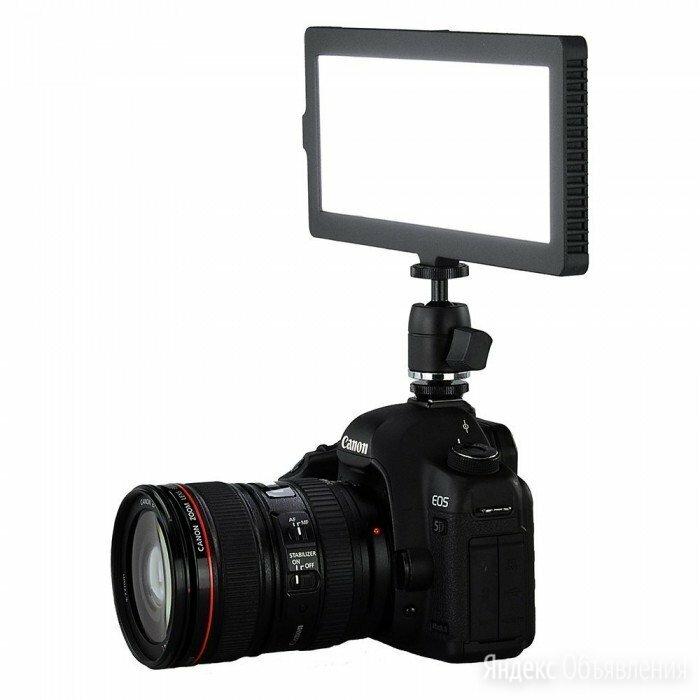 Видео свет Lishuai Flapjack C-218A (с батареей и ) по цене 7000₽ - Фотовспышки, фото 0