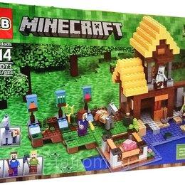 Игровые наборы и фигурки - Конструктор Minecraft My World «Фермерский коттедж», 0