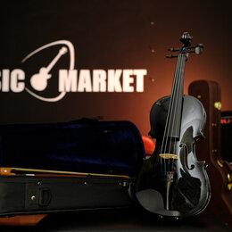 Смычковые инструменты - Скрипка 3/4 с комплектом Fabio SF3600 BK , 0