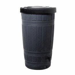 Бочки - Водосборник Prosperplast Woodcan 265л, черный, 0