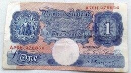 Банкноты - Великобритания 1 фунт без даты выпуск 1940-48…, 0