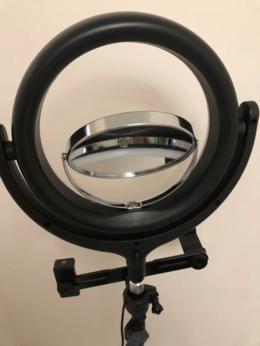 Лампочки - Koльцeвaя светодиоидная лaмпa F539В c дepжaтeлeм…, 0