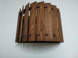 Бра и настенные светильники - Дизайнерский настенный светильник бра из дерева…, 0