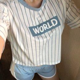 Домашняя одежда - Новые пижамы (футболка+шорты), 0