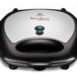 Сэндвичницы и приборы для выпечки - Сендвичница Moulinex SW611812, 0