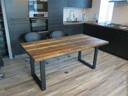 Столы и столики - Стол лофт массив индастриал loft, 0