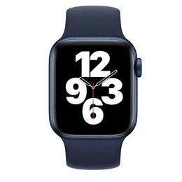 Аксессуары для умных часов и браслетов - Монобраслет для Apple watch 44mm Deep Navy Solo…, 0