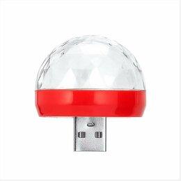 Ночники и декоративные светильники - Светодиодная музыкальная RGB-лампа USB, 0
