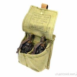 Подсумки - Подсумок для гранат армейский двух-секционный +, 0