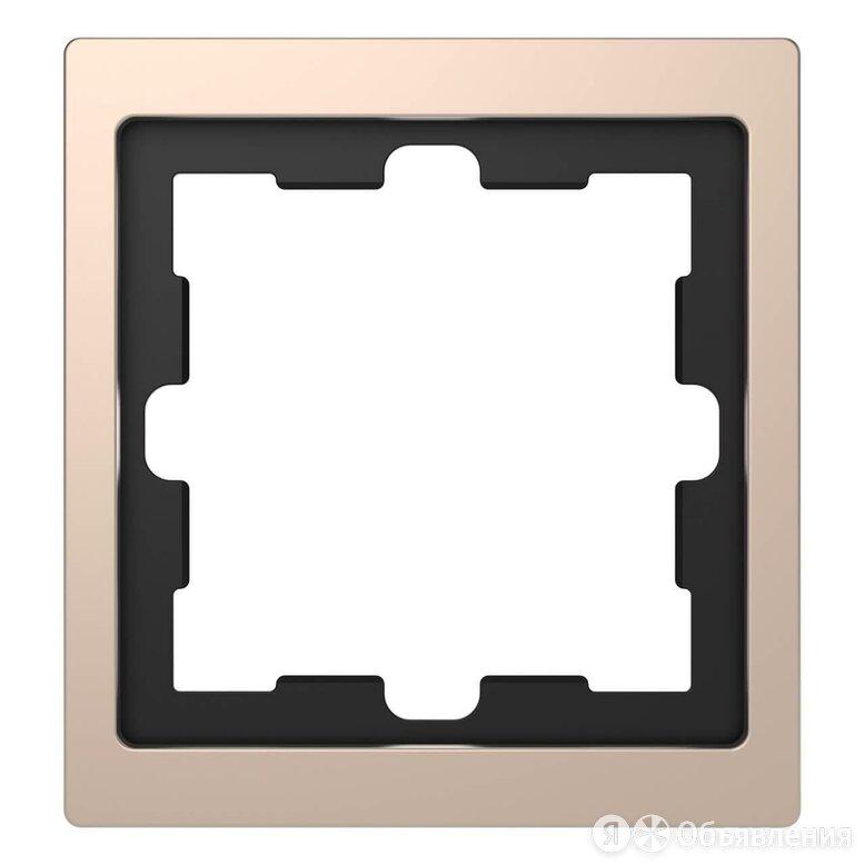 Рамка 1-постовая Schneider Electric Merten D-Life MTN4010-6551 по цене 3624₽ - Электроустановочные изделия, фото 0