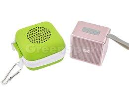 Акустические системы - Колонка-Bluetooth VIXION A105 (розовый), 0