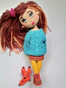 Рукоделие, поделки и товары для них - Вязаная кукла, 0