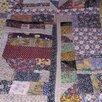 Лоскутное одеяло (покрывало) по цене 7000₽ - Пледы и покрывала, фото 0