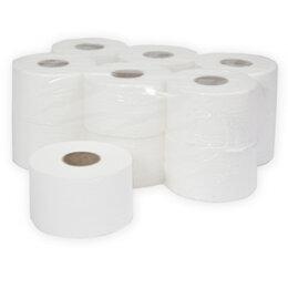 Туалетная бумага и полотенца - Профессиональная туалетная бумага  для диспенсеров Mini рулон 200м, 0