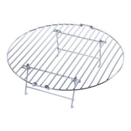 Решетки - Решетка складная второй уровень, круглая  для гриля XXL/XL Big Green Egg, 0