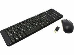 Комплекты клавиатур и мышей - Клавиатура и мышь Logitech MK220, 0