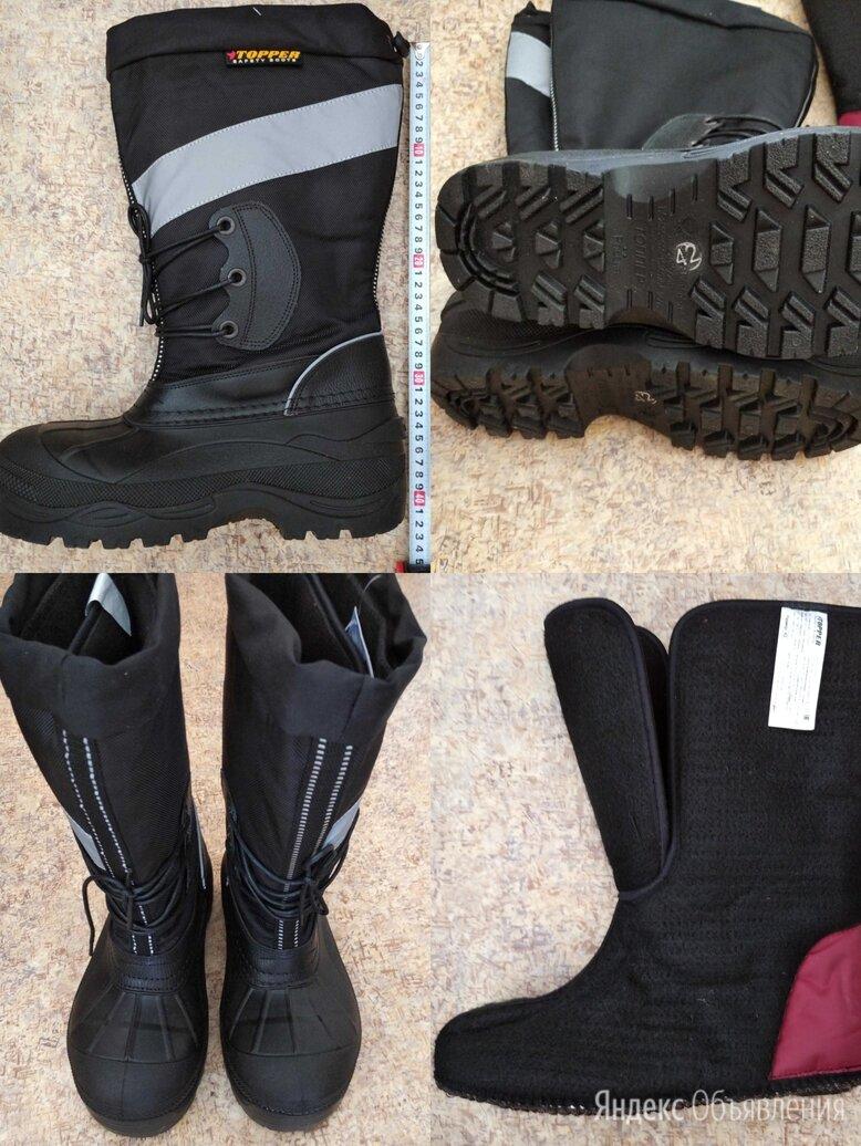 Сапоги Топпер зимние по цене 3000₽ - Одежда и обувь, фото 0