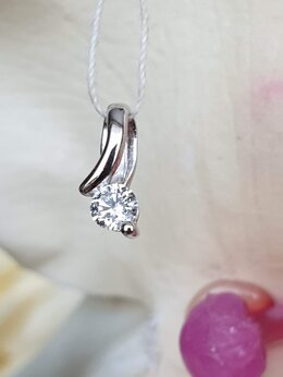 Кулоны и подвески - Подвеска с бриллиантом, 0