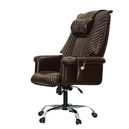 Массажные кресла - Офисное массажное кресло EGO President EG1005 КОФЕ (Арпатек), 0