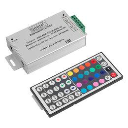 Светодиодные ленты - RGB контроллер 216вт IP20 12v, 0