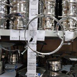 Уголки, кронштейны, держатели - Хомут для трубы дымохода. Хомут стяжной, 0