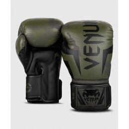 Боксерские перчатки - Боксерские перчатки Venum Elite Khaki Camo, 0