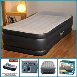 Надувная мебель - Надувные кровати матрасы Intex односпальные Toreo, 0
