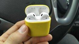 Наушники и Bluetooth-гарнитуры - AirPods 2 + чехол в подарок + бесплатная доставка, 0