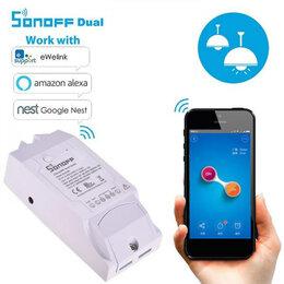 Системы Умный дом - Sonoff Dual Wi-Fi реле на 2 линии Умный Дом, 0