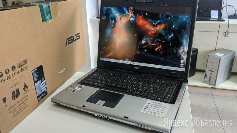 Ноутбук Acer AMD turion x2/2G/HDD120G/AMDX1300 по цене 4480₽ - Ноутбуки, фото 0