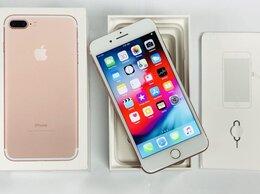 Мобильные телефоны - Телефон iPhone 7 Plus 32 Gb gold rose в идеале, 0