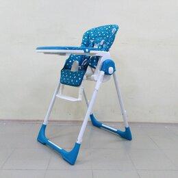 Стульчики для кормления - Стульчик из экокожи Rant Crystal PVC. Blue. /Новый/., 0