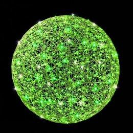 Новогодний декор и аксессуары - Светодиодный светящийся шар 200 см (цвет на выбор), 0