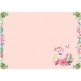 """Конный спорт - Клеенка для уроков труда ArtSpace """"Flamingo"""", 50*70см, ПВХ, 0"""