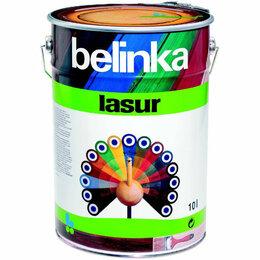 Краски - belinka lasur 10 л №13 Сосна, 0